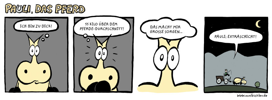 pauli_das_pferd - ich_bin_zu_dick